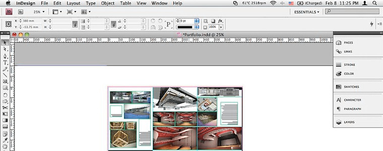 en classe virtuelle - InDesign