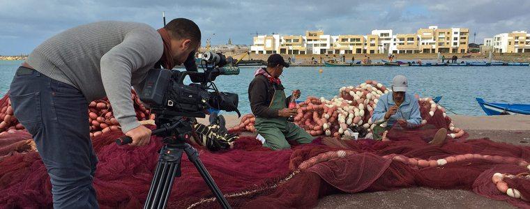 Les techniques de tournage d'un sujet news